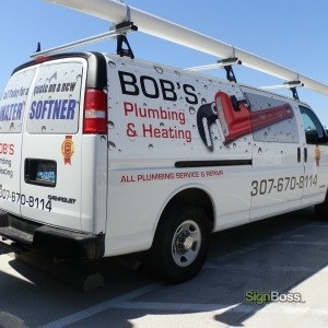 Bob's Plumbing – Fleet Vehicles & Partial Wrap