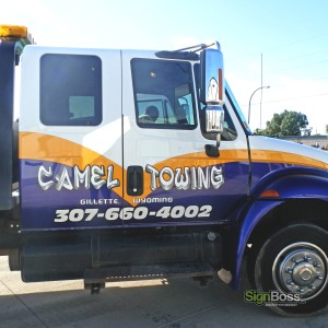 Camel Towing – Partial Wrap