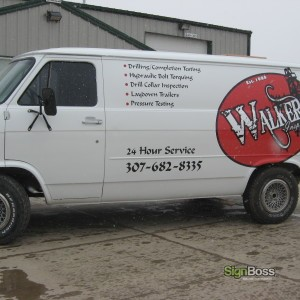 Walker Inspection – Van Graphics