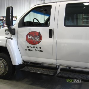 Walker Inspection – Truck Graphics