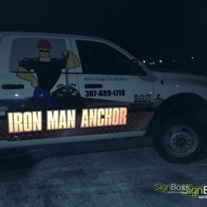 Iron Man Anchor – Custom Reflective Fleet Graphics