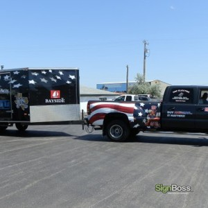 My Made in America Store – Truck & Trailer Wrap