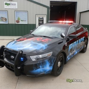 City of Gillette – D.A.R.E. Car Wrap