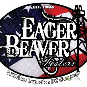 Walker Inspection – Eager Beaver Logo Design