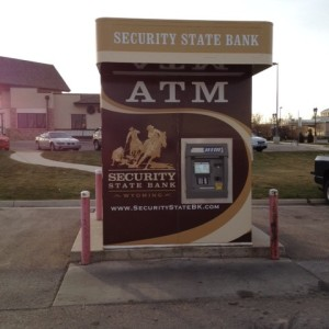 Security State Bank – Gillette ATM Wrap