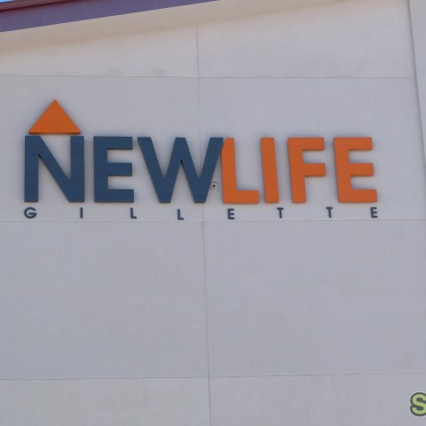 New Life Church – Dimensional Building Sign
