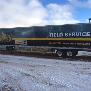 Full Wraps – Wyoming Machinery Semi Trailer