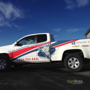 White's Frontier Motors – Vehicle Wrap