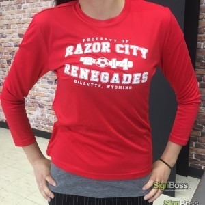Athletic Shirts – Razor City Renegades