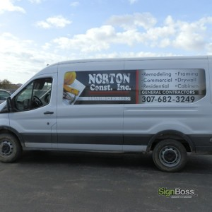 Norton Construction – Partial Wrap
