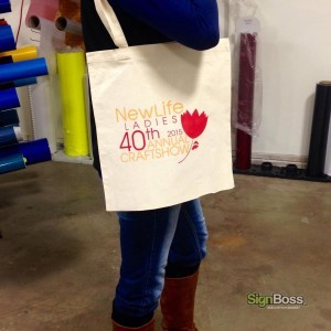 Screen Printed Custom Totes
